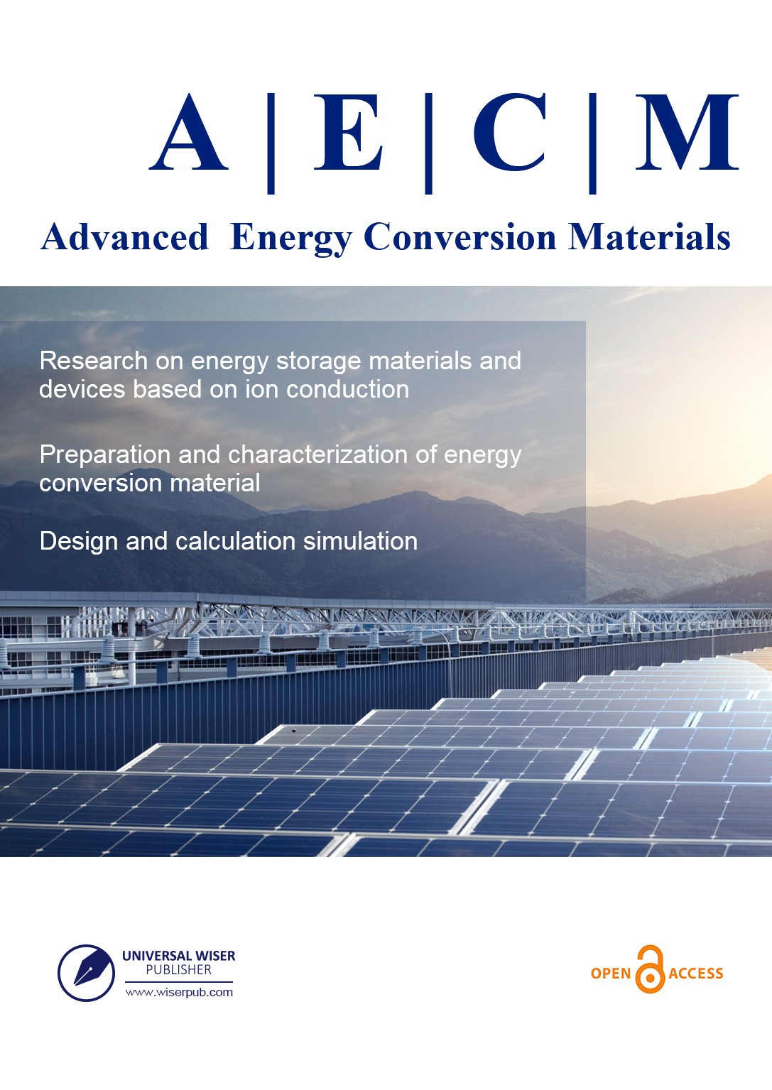 Advanced Energy Conversion Materials